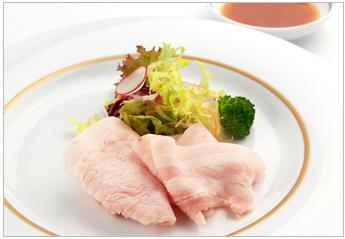 Loose And Rose Meat Shabshab Salad Ponzu Sauce
