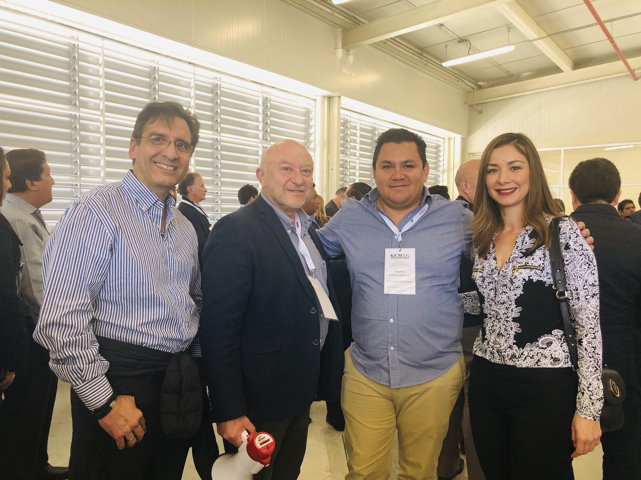 ng. Antonio Bojorquez. C.P. Carlos Patrón. Ing. Benjamin Gutierrez. Ing. Alejandra Aceves