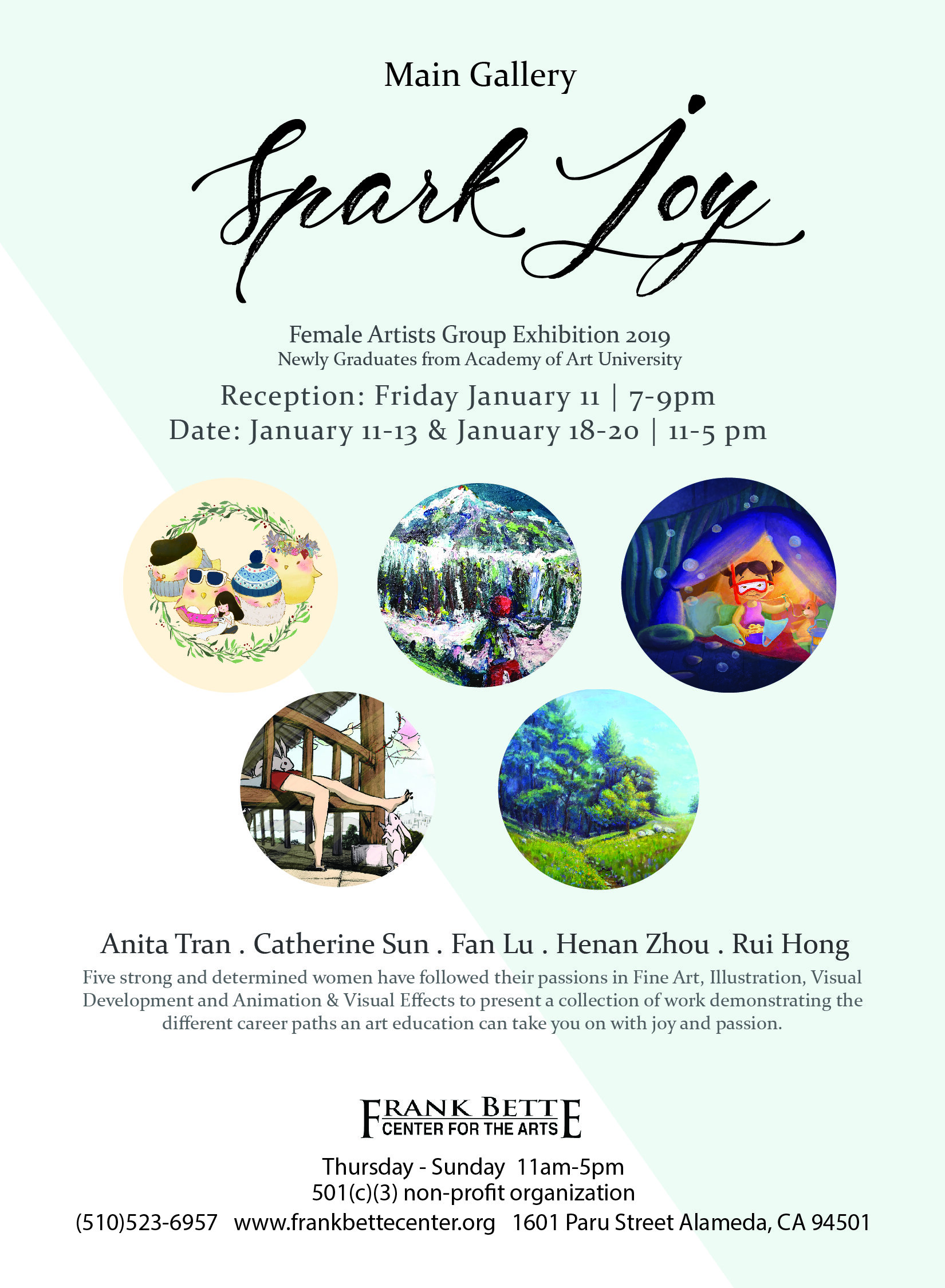Female Artists Group Exhibition - Exhibition organized by Fan Lu