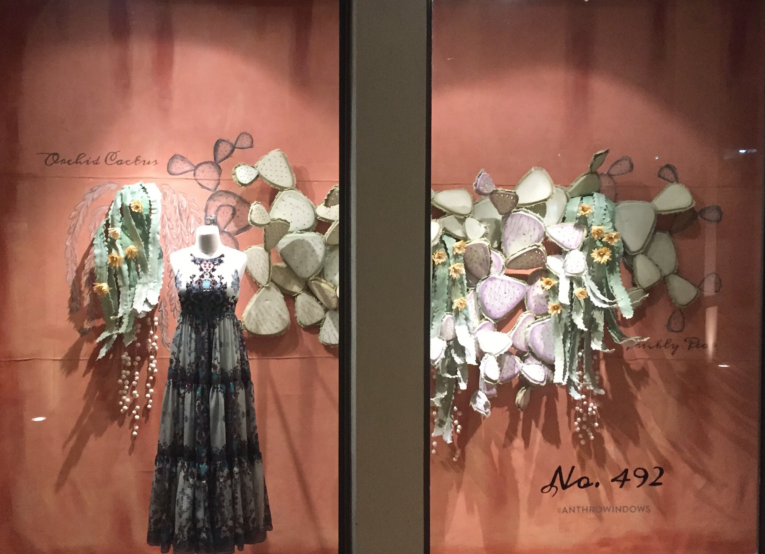 Fall Window Display 2016 for Anthropologie