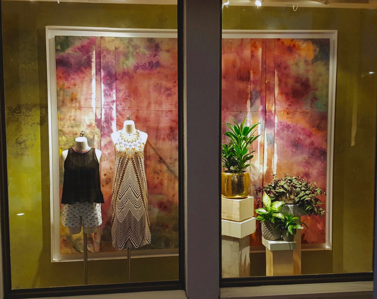 Summer 2016 Window Display for Anthropologie