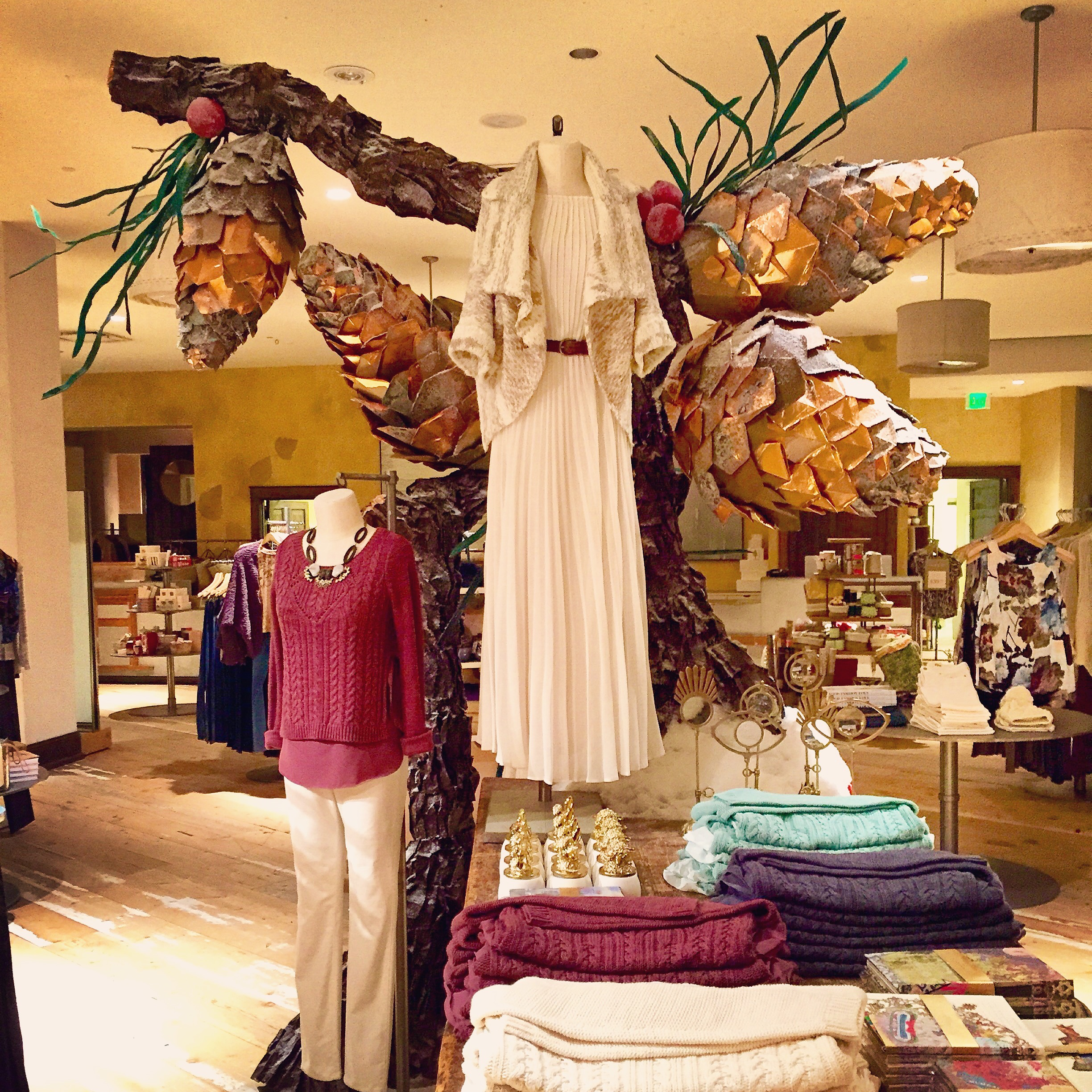 Holiday Display 2014 for Anthropologie
