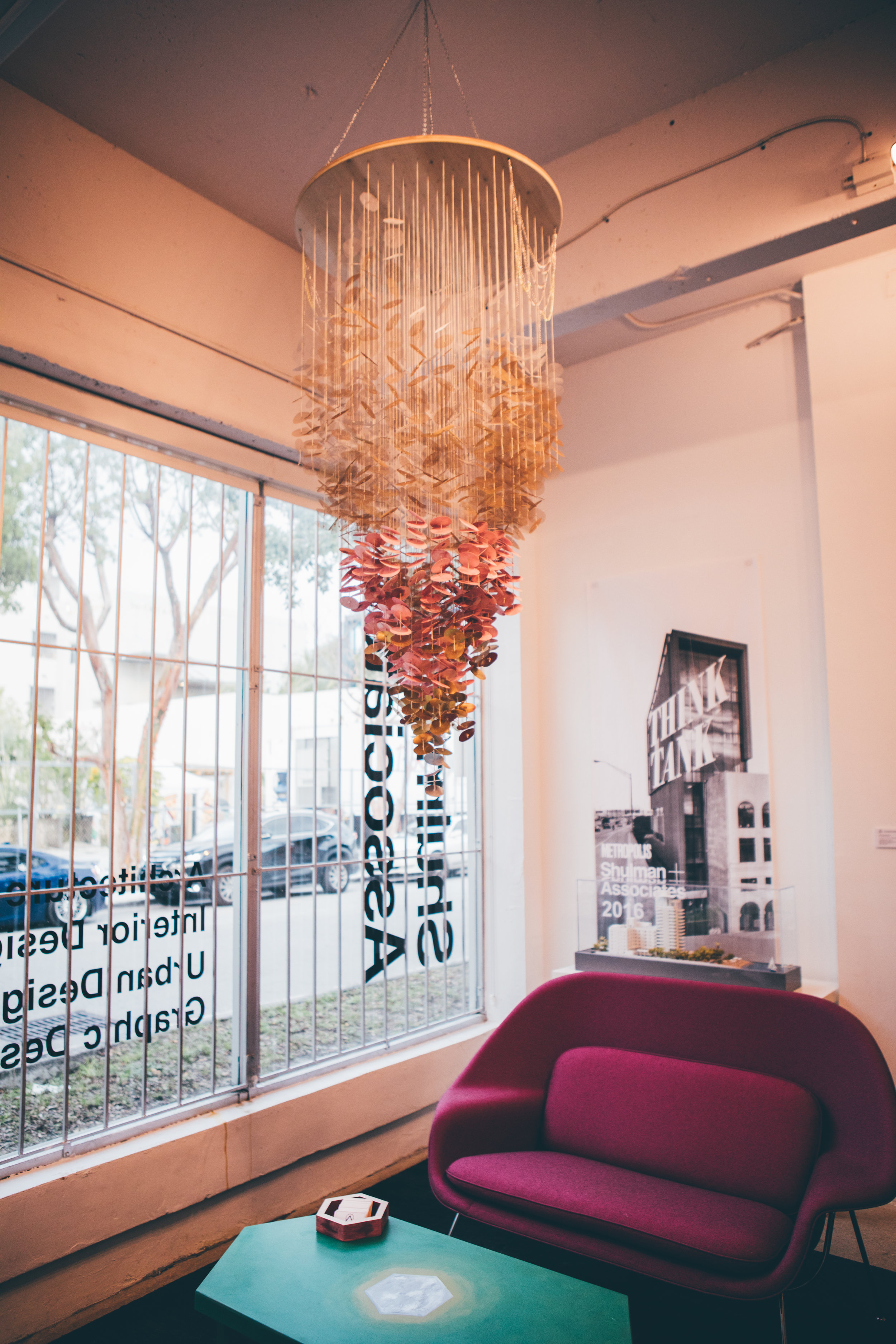 """""""Count Your Lucky Stars"""" suspended sculpture (Available for Purchase) Photo by  Katy Seymour"""