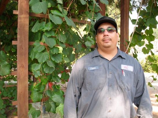 Eddie Munguia, Horticultural Lab Technician South Bay Botanic Garden – Photo by Susan Krzywicki