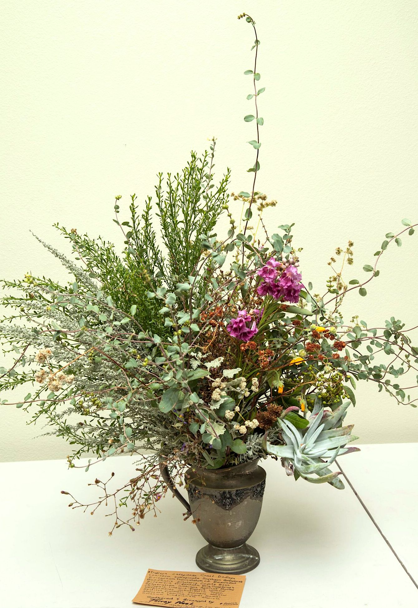 A second CA native flower arrangement by Torrey Neel