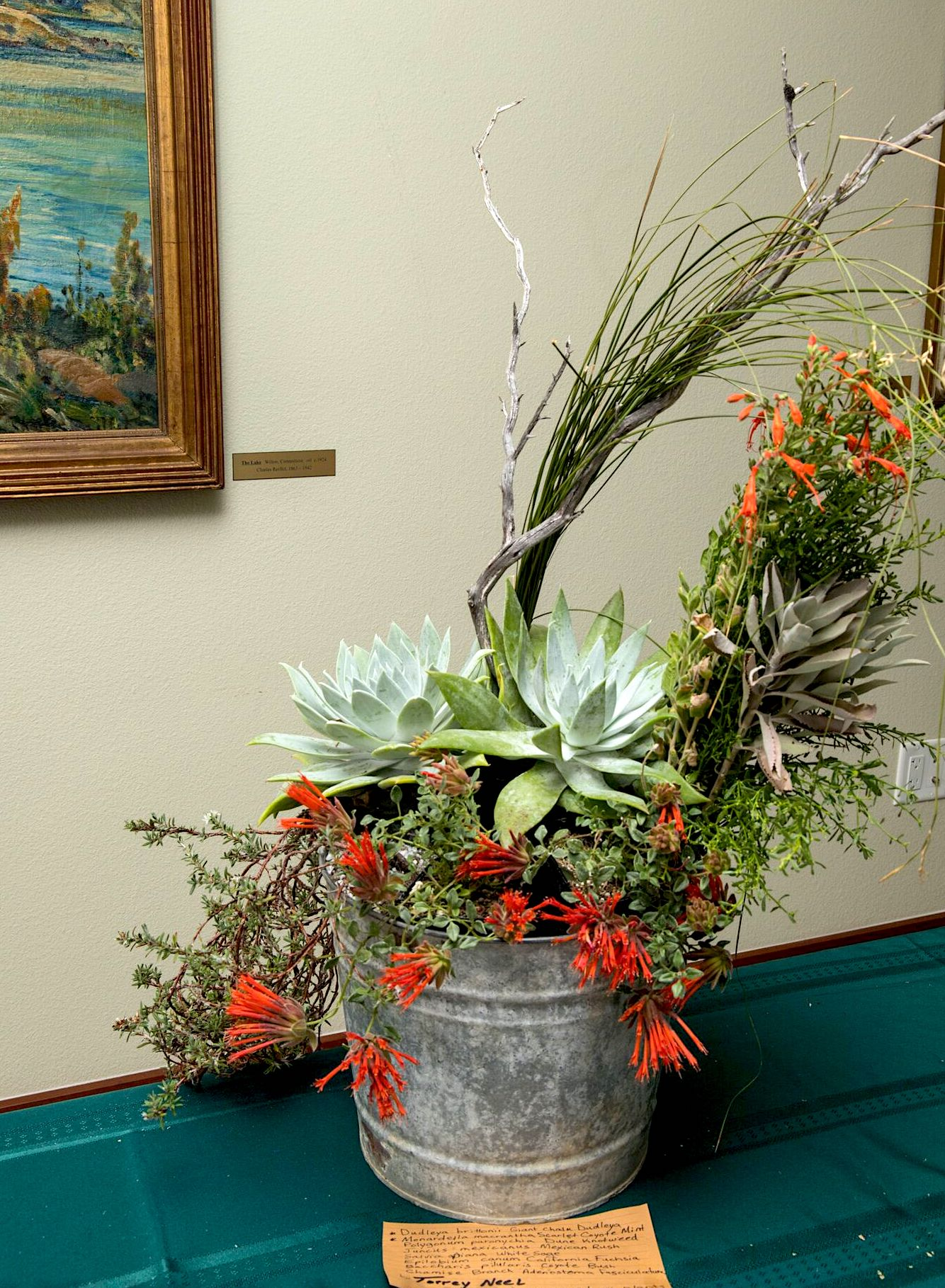 CA native flower arrangement by Torrey Neel