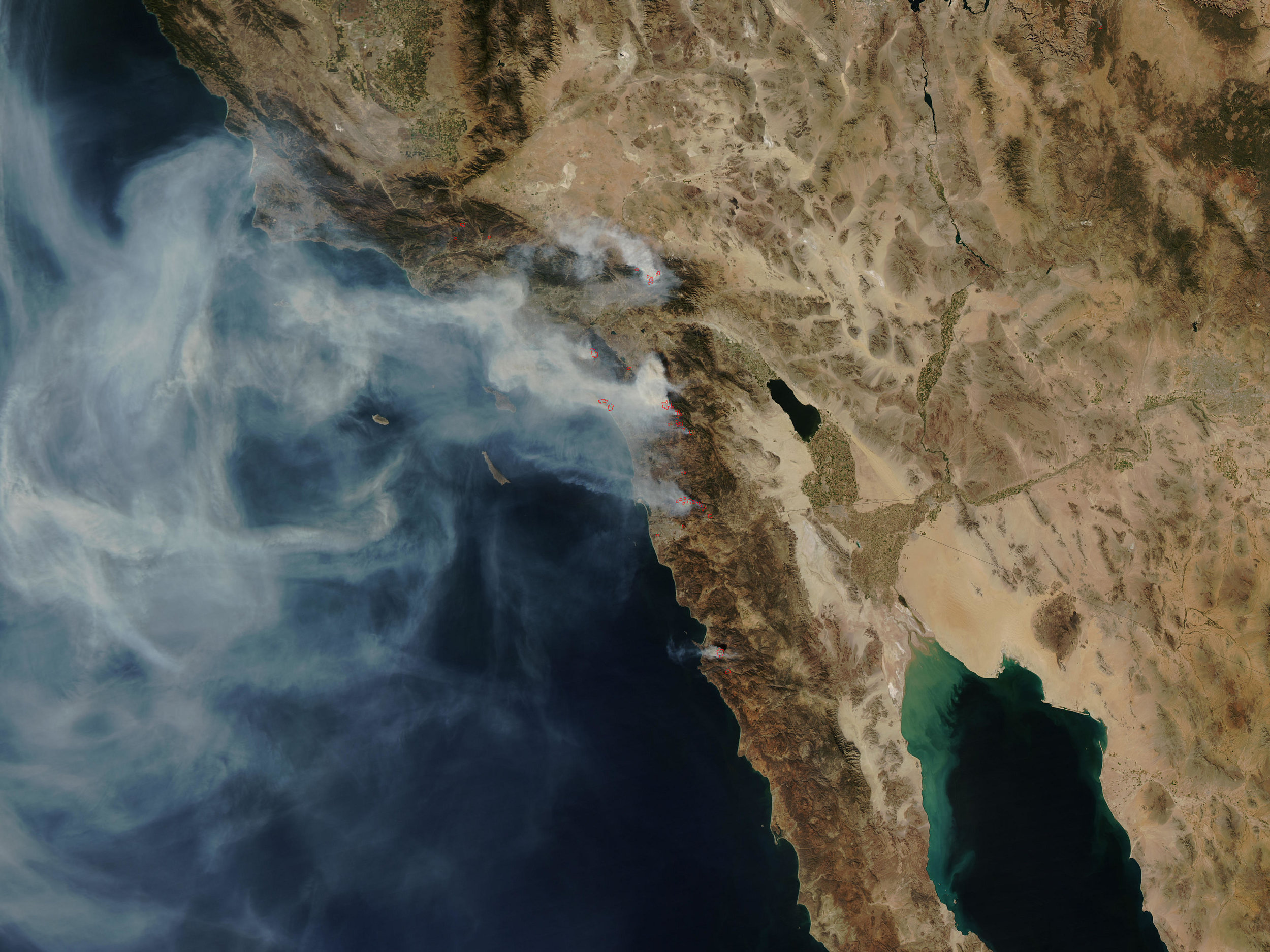 NASA image courtesy the  MODIS Rapid Response Team, Goddard Space Flight Center