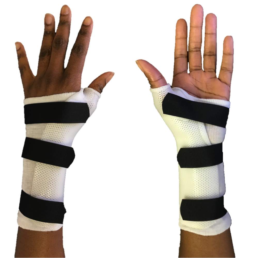 Splint to treat thumb arthritis