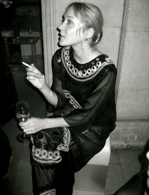 I love a weird, vintage dress! And no one does it better than Ms. New York, Chloë Sevigny.