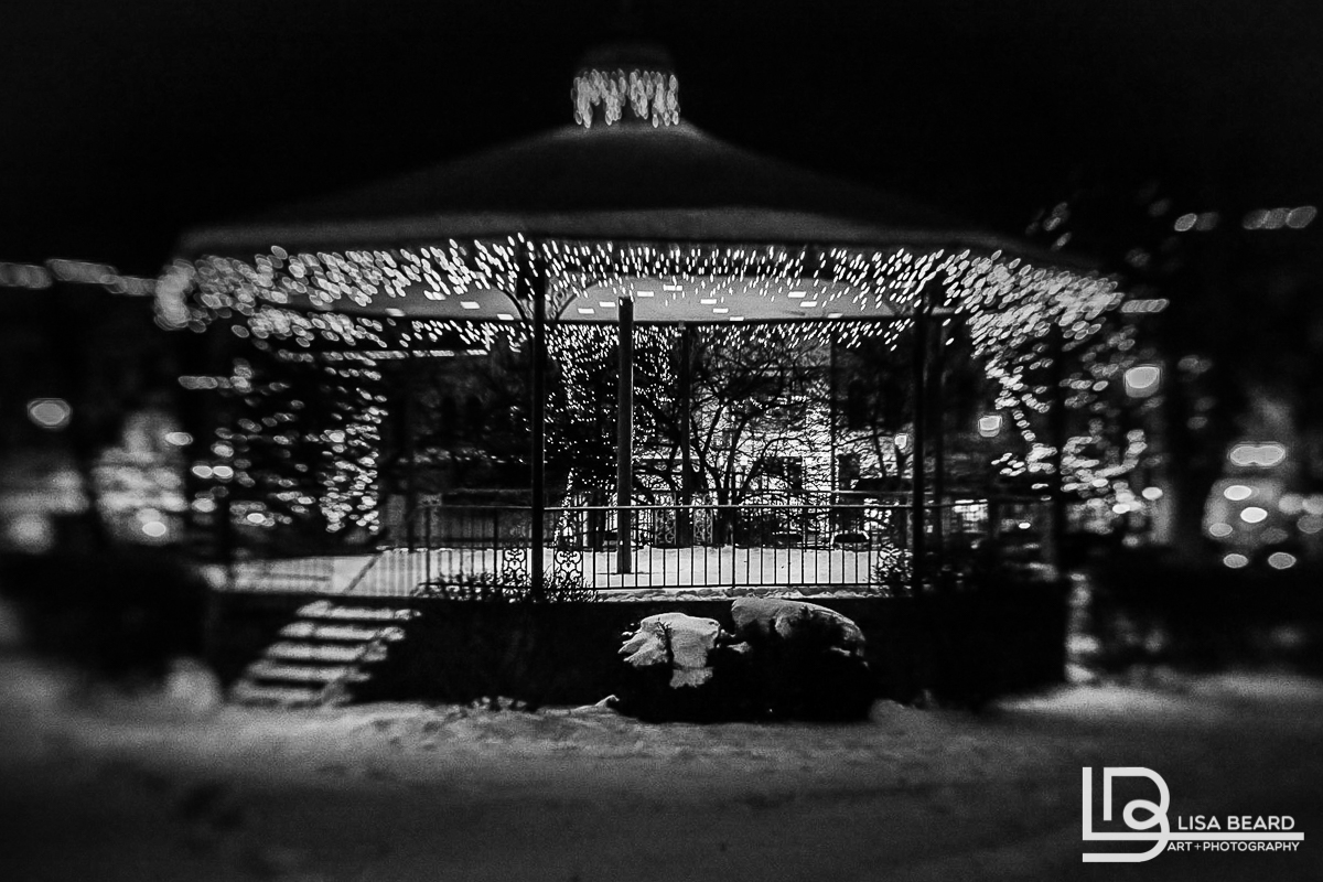 """Winter Gazebo"" 
