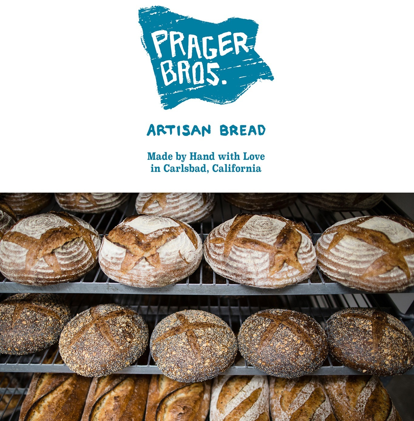 PRAGER BROTHERS    Organic Traditional Sourdough & Artisan Breads