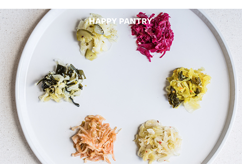 HAPPY PANTRY    Organic & Traditional Probiotic-Rich Ferments