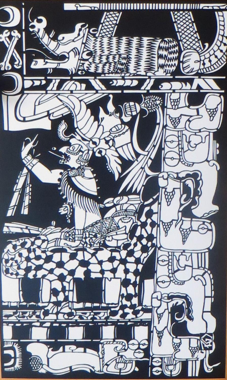 Pablo Horacio Cruz: Mayan Motif