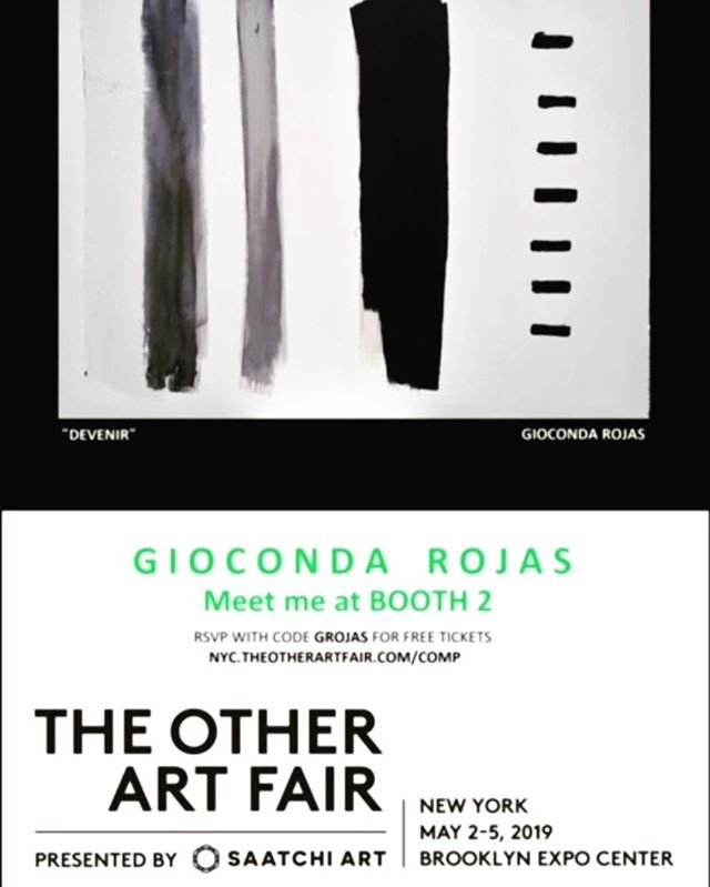 "Support an artist that has contributed much to the community of El Taller. See Giocanda Rojas's work at ""The Other Art Fair,"" starting today and continuing through the weekend.  #arte #comunidad #art #community #artfair #friendsofeltaller"