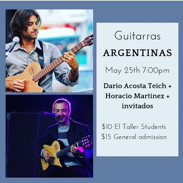 Join us for this beautiful concert on May 25th!  #concert #conciertos #musicaenvivo #guitarra #guitar #musicaargentina #argentina