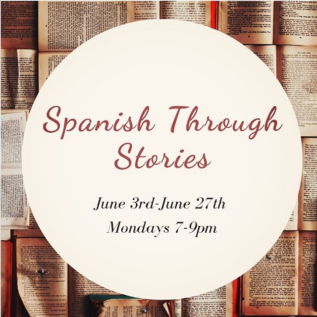 "Over the course of one month, students enrolled in the ""Spanish through Stories"" class at El Taller Latino Americano will be developing their reading, writing and conversation skills in Spanish through close analysis of a collection of short stories from throughout Latin America.  This course seeks to provide students at an advanced, near-fluent or fluent/native level with the opportunity to further develop proficiency in Spanish by analyzing the political, social and historical context of Latin American art and literature entirely in Spanish.  To find out more information or to enroll call El Taller at 212-665-9460, register on the first day of class or register online https://tallerlatino.org/adult-spanish-o…/art-and-literature  #lunesidioma #arte #literatura #art #literature #spanish #spanishclasses #español #classesdeespañol"
