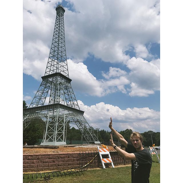 Saw the Eiffel Tower today!