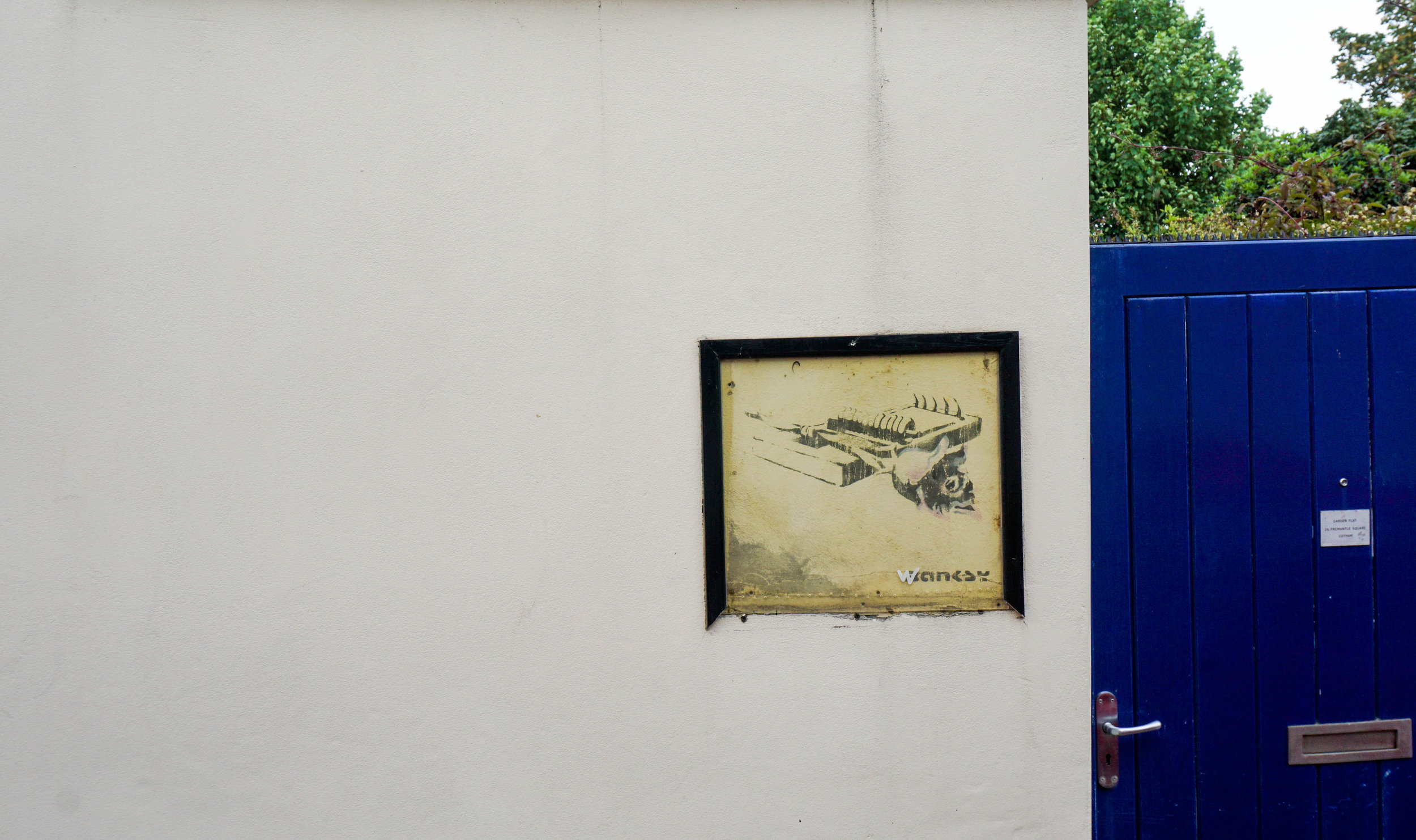 "Banksy's ""Rose Trap"""