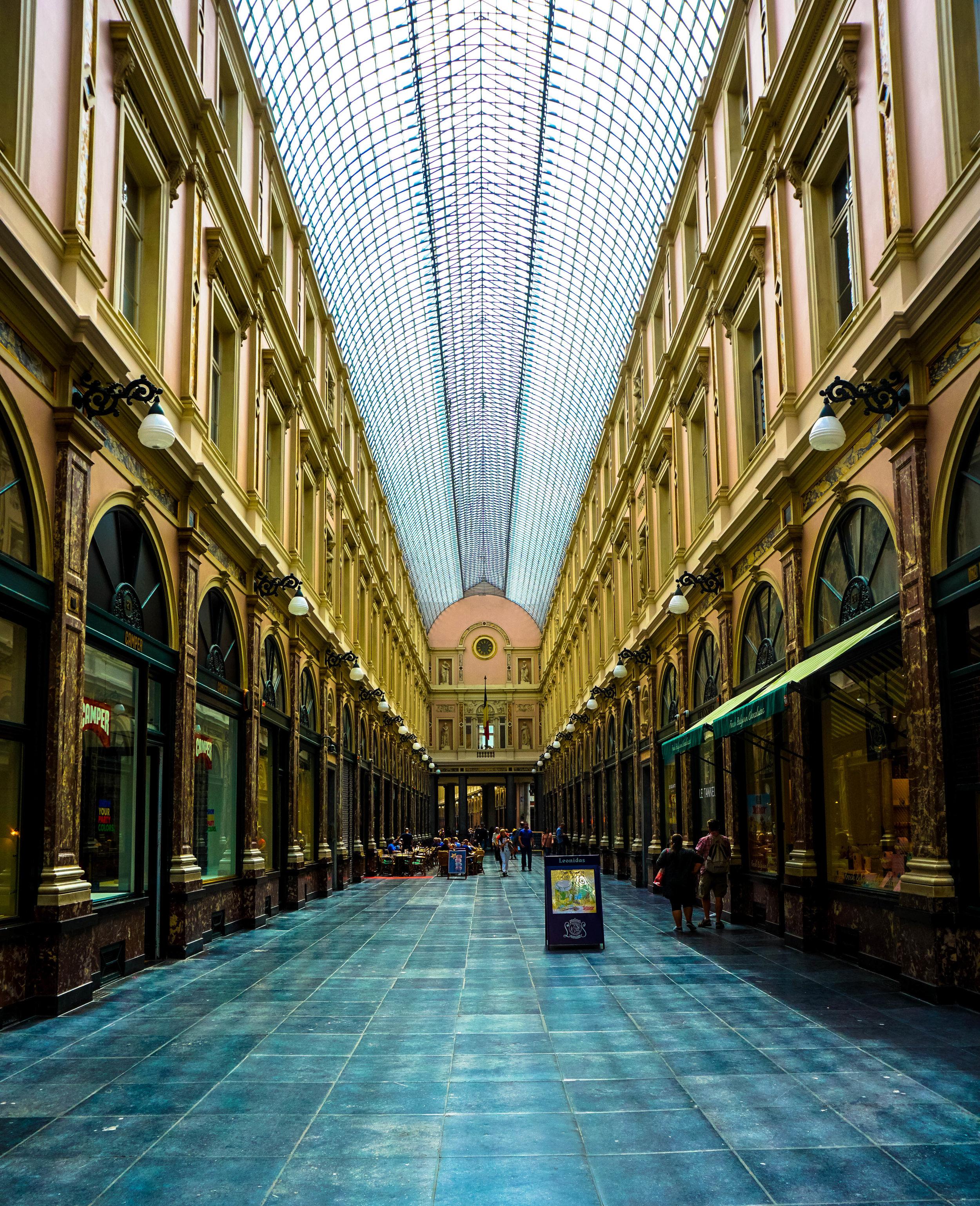 Les Galeries Royales Saint-Hubert (Day), Brussels