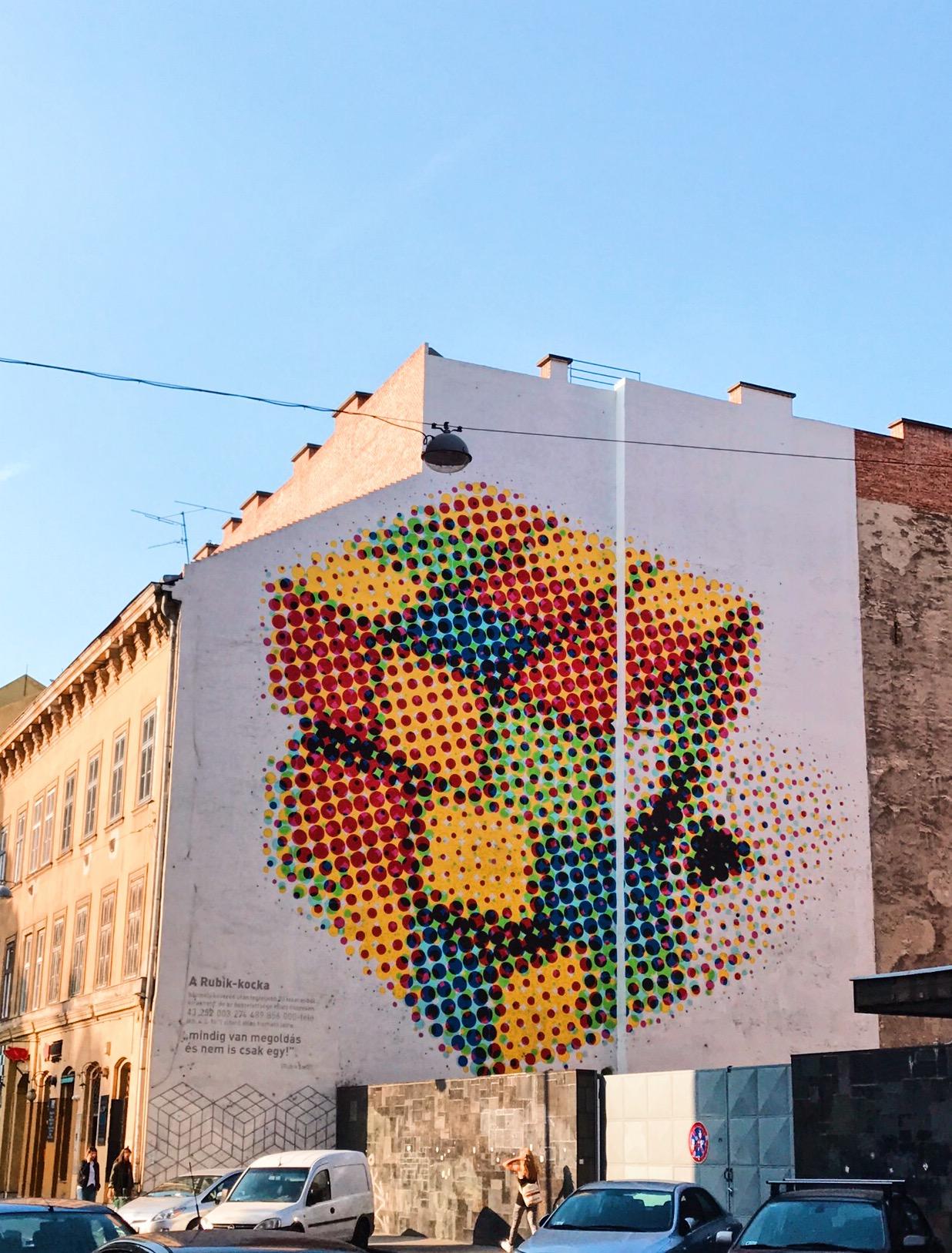 Part of the Budapest free Street Art & Graffiti Tour