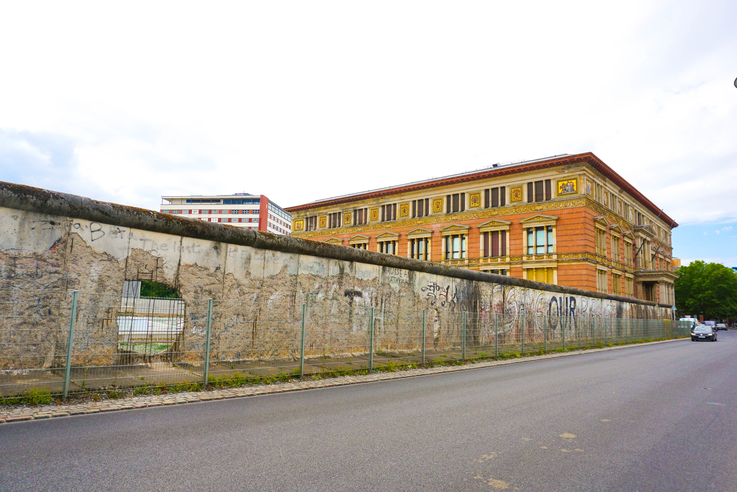 The Berlin Wall remains