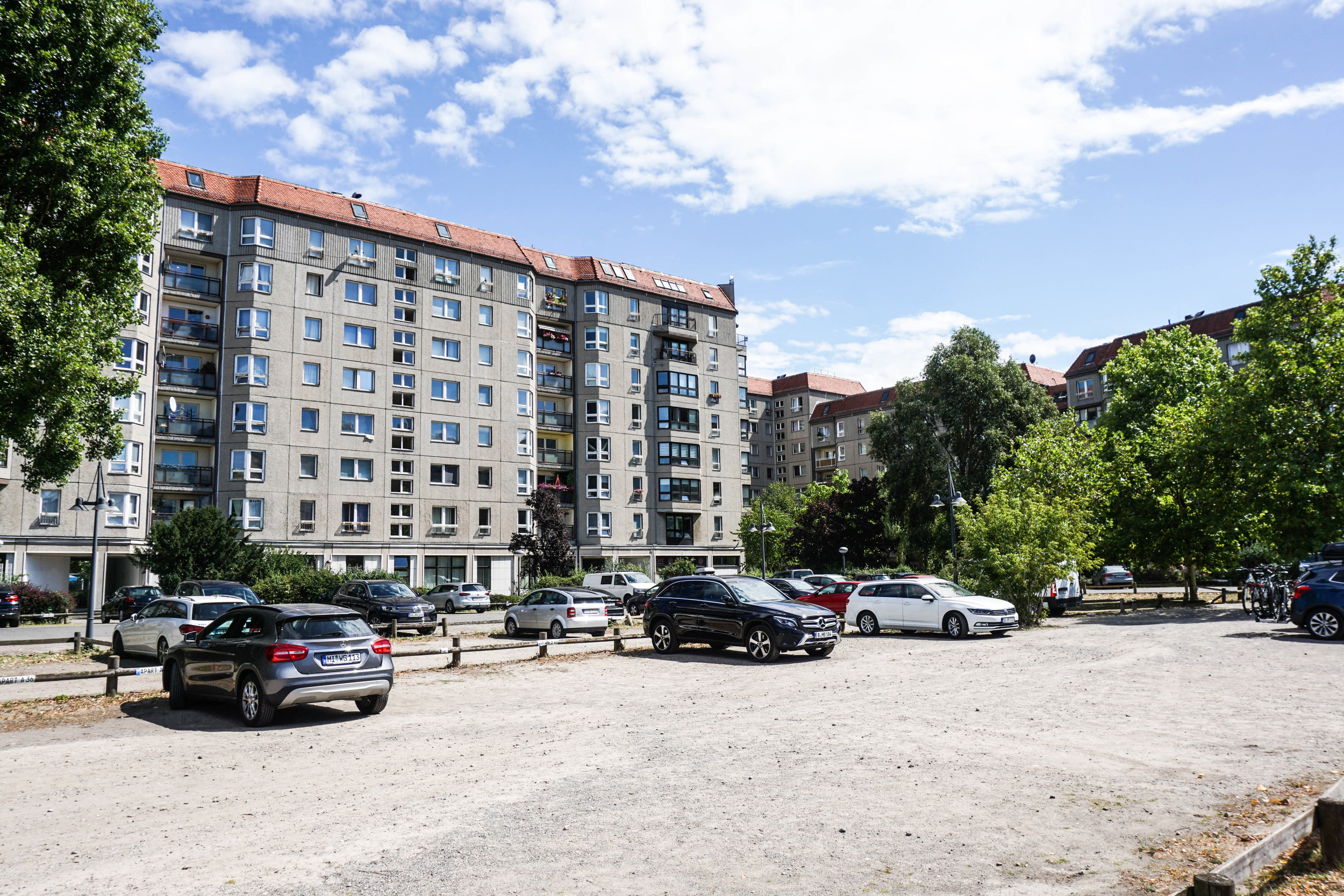 HItler's place of death and former bunker is a seemingly forgettable parking lot in central Berlin