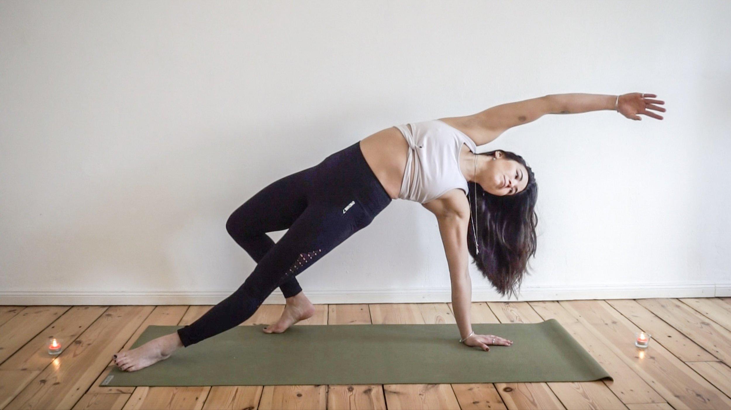 yoga backbend variation