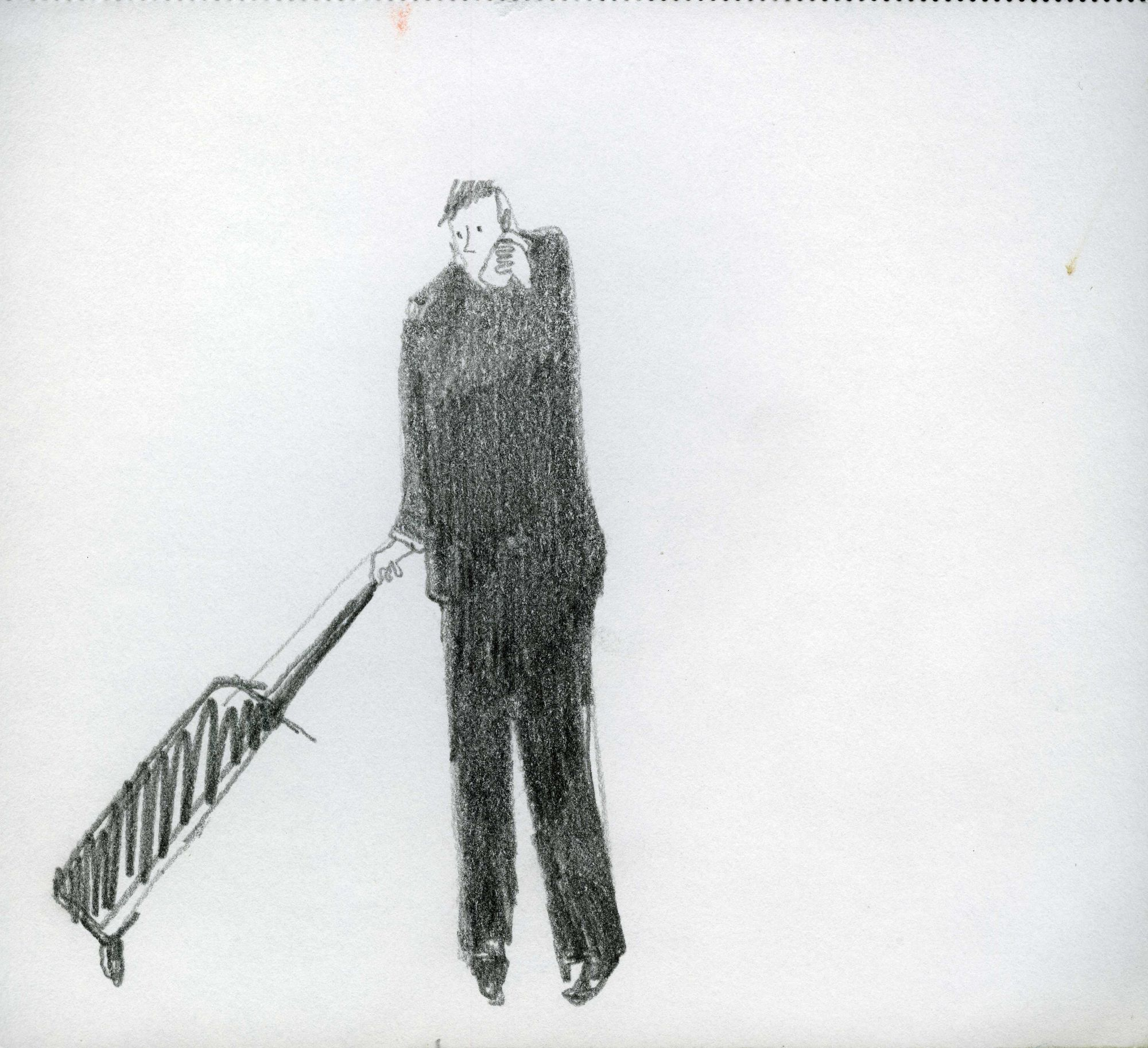 (figure with suitcase)