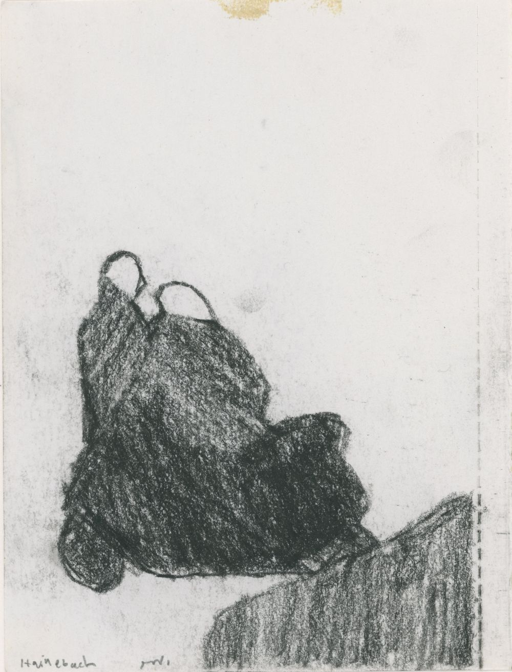 Untitled (two figures two vehicles)