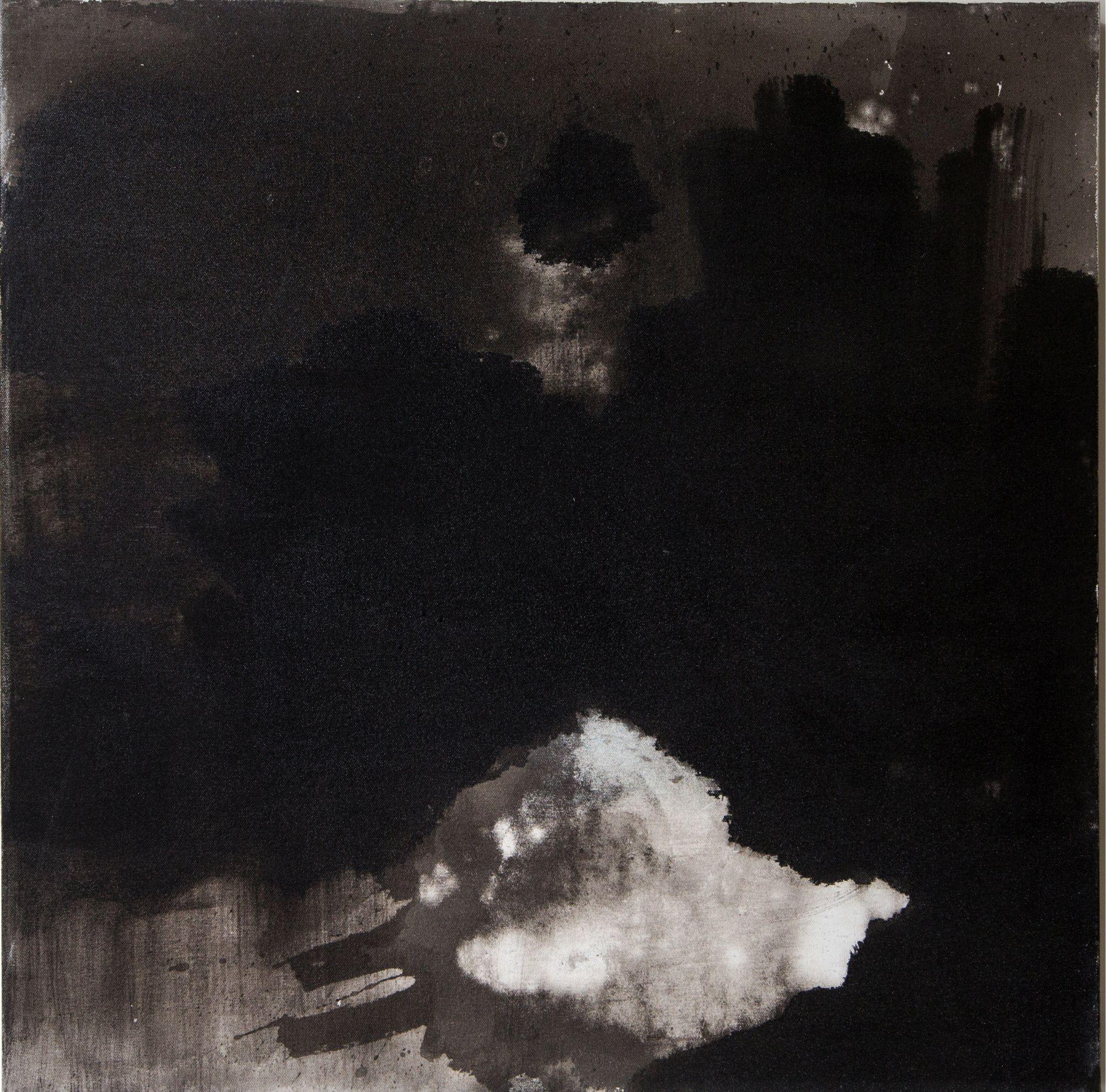 Untitled (black moon)