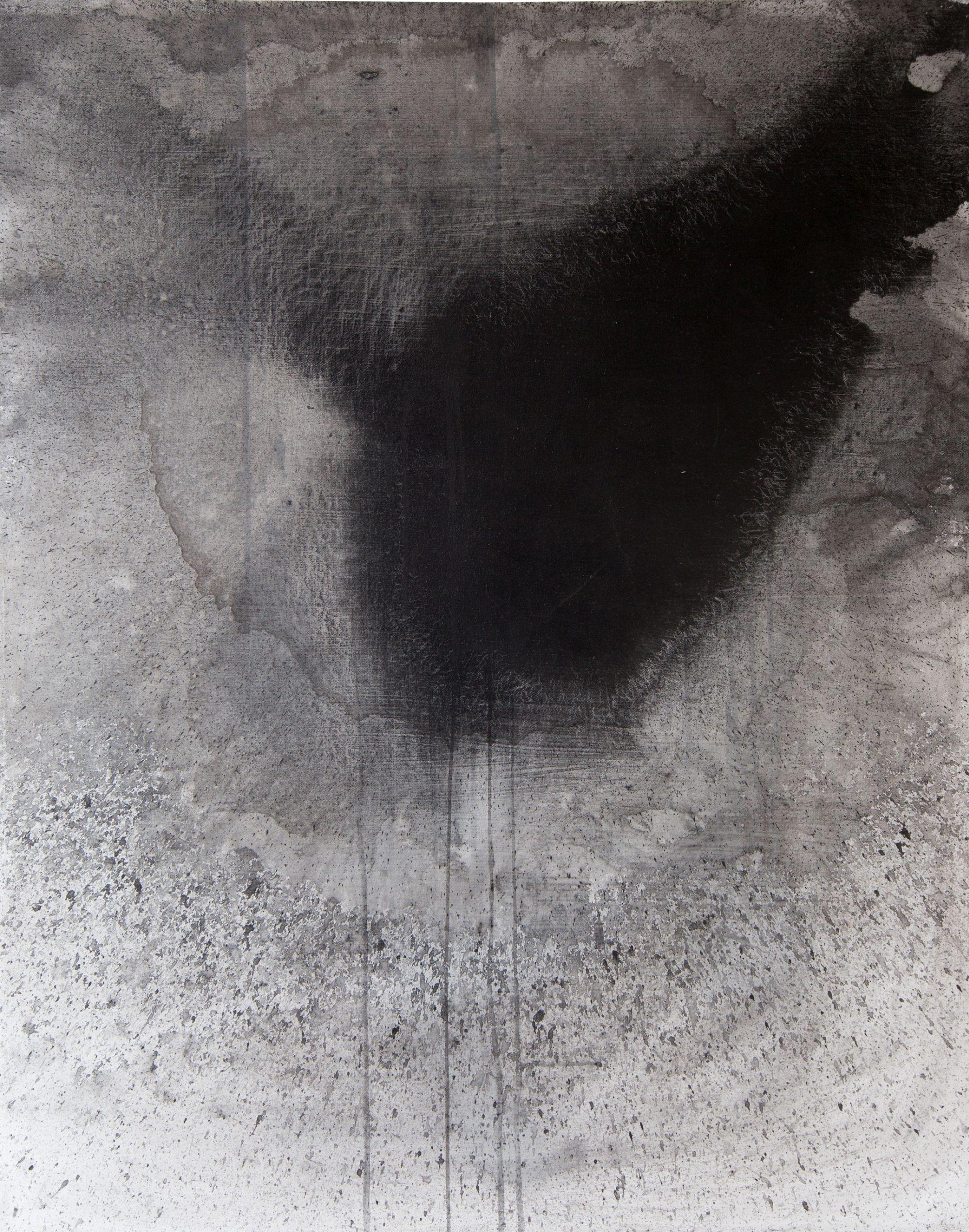 Untitled (black heron)