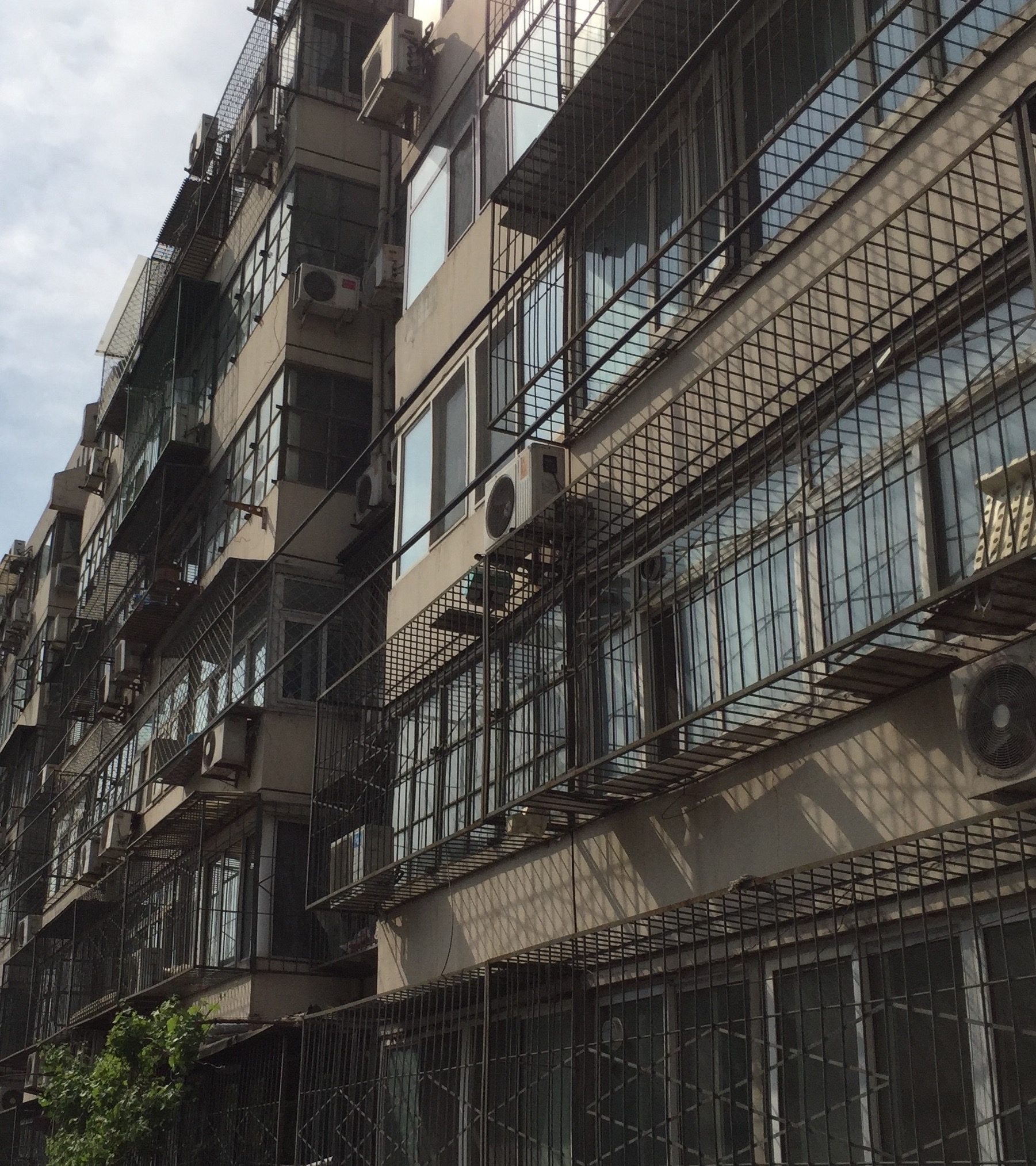 Apartments in the Haidian district  - the student heartland of Beijing