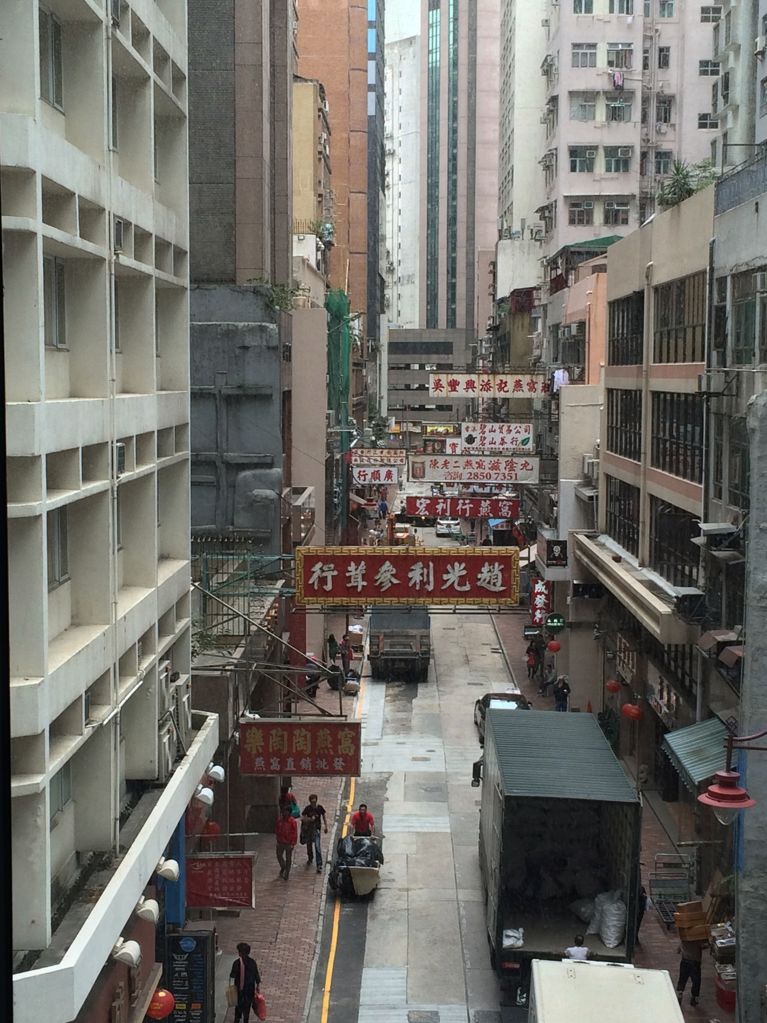 Sheung Wan District, Hong Kong island