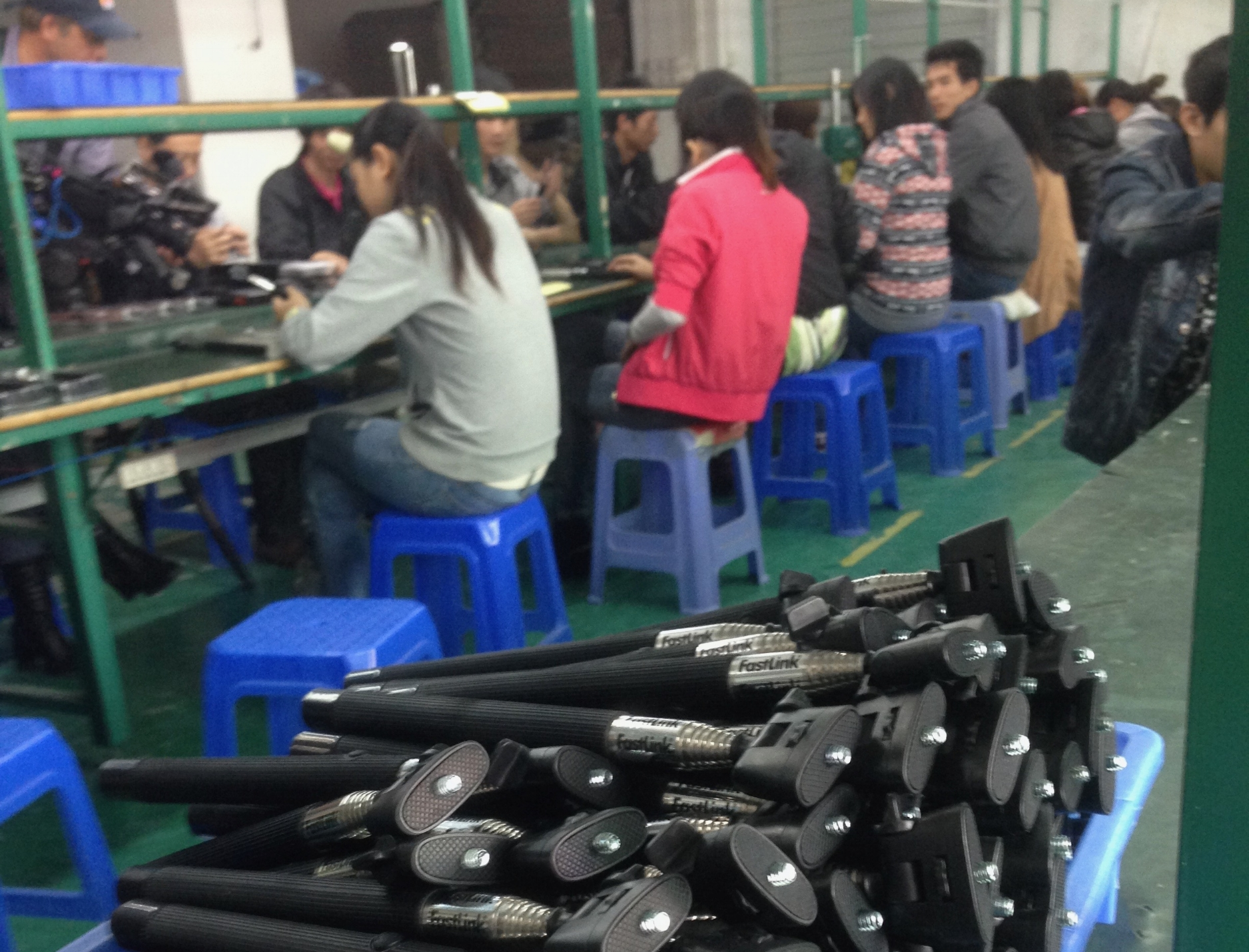 """Selfie-stick"" production line"