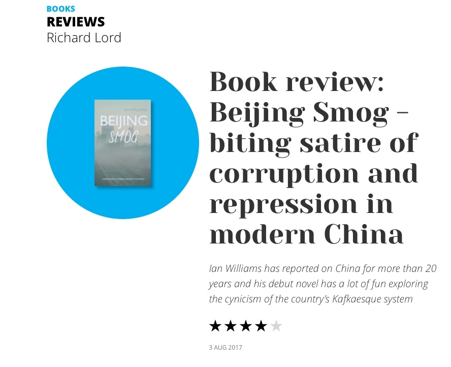 Click above to read the full review from the South China Morning Post