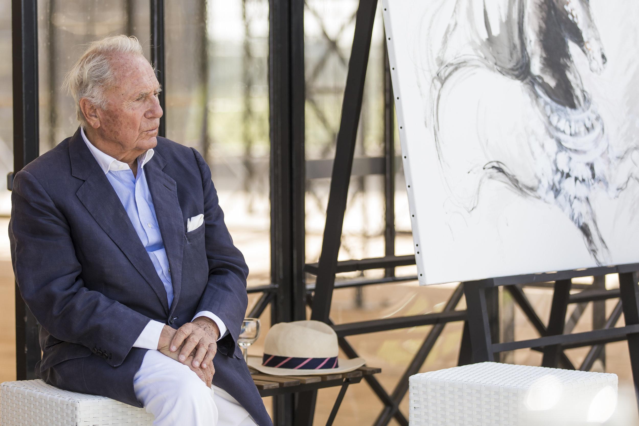 Patrick Guerrand-Hermès, Fondateur du Polo Club du Domaine de Chantilly  Patrick Guerrand-Hermès, Founder of Chantilly Polo Club