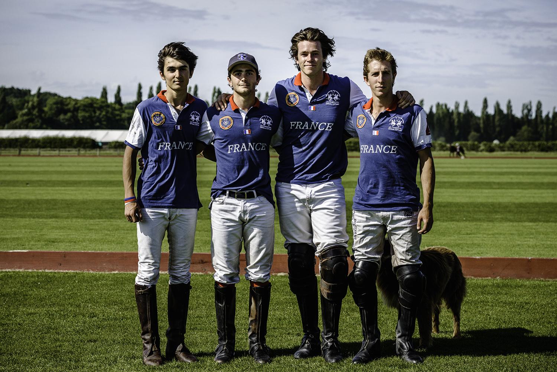 L'Equipe de France de polo  The French Polo Team
