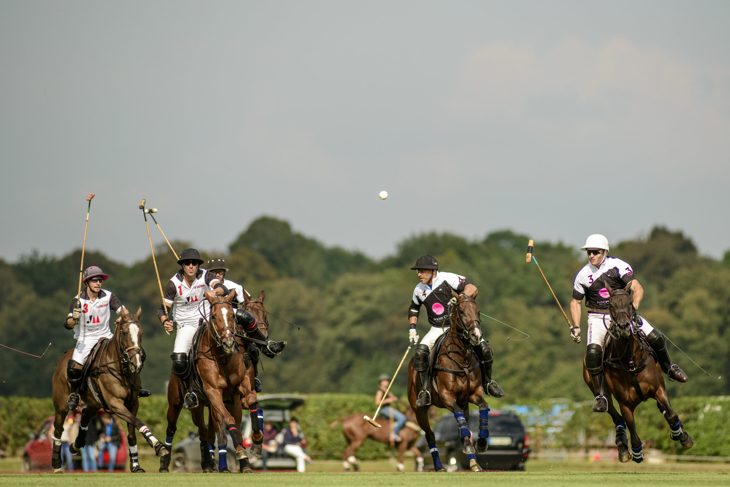 Match au Polo Club du Domaine de Chantilly  Game at the Chantilly Polo Club