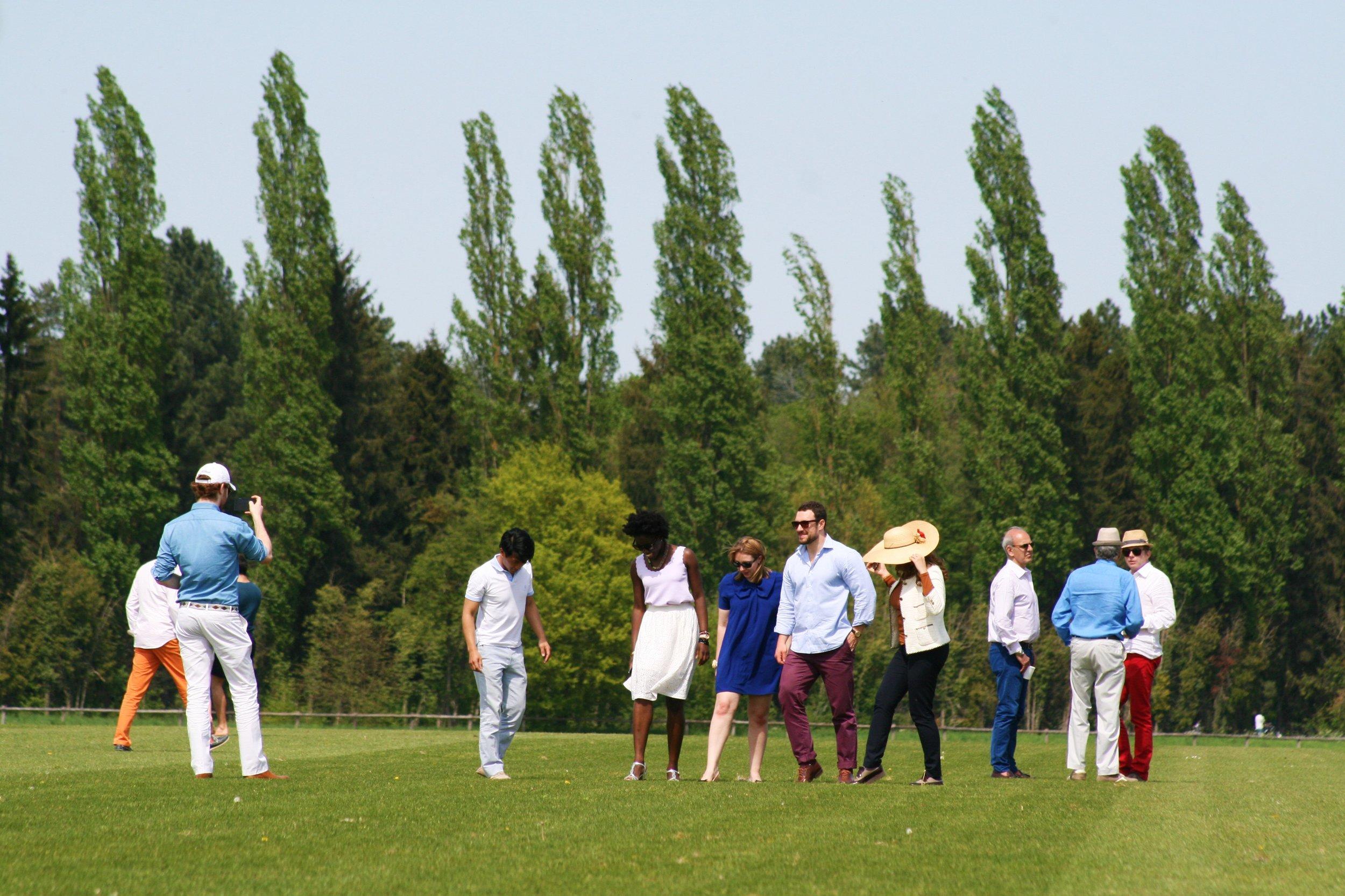 Polo Club Du Domaine de Chantilly Visitors.JPG