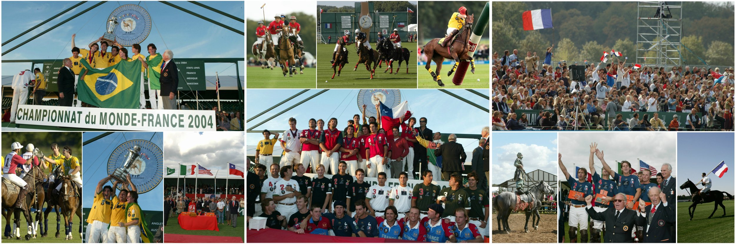 Les meilleurs moments du Championnat du Monde 2004 qui ont eu lieu au Polo Club du Domaine de Chantilly The best-of of the World Polo Championship which occured in 2004 at Chantilly Polo Club