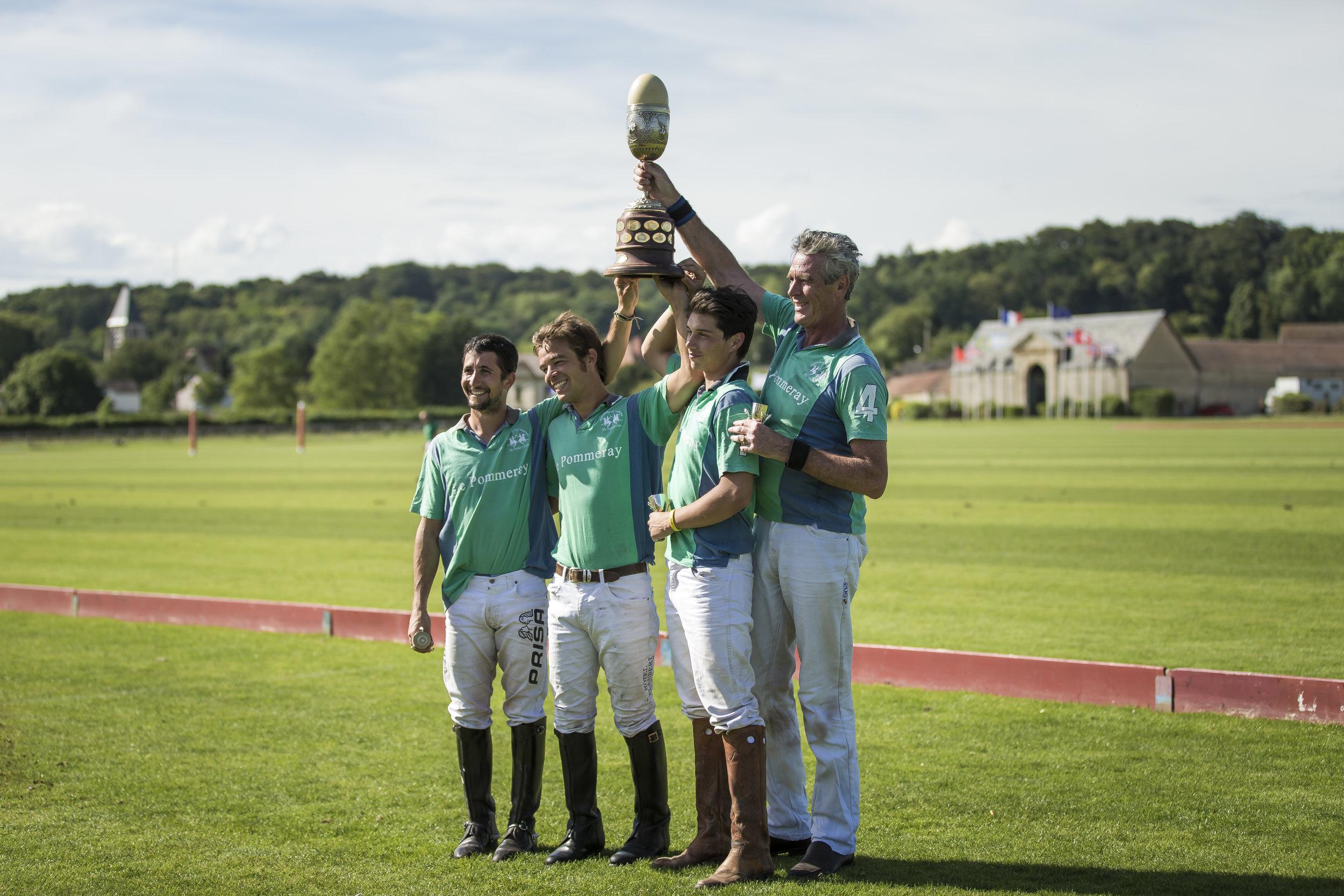 LE POMMERAY vainqueur de la dernière édition.