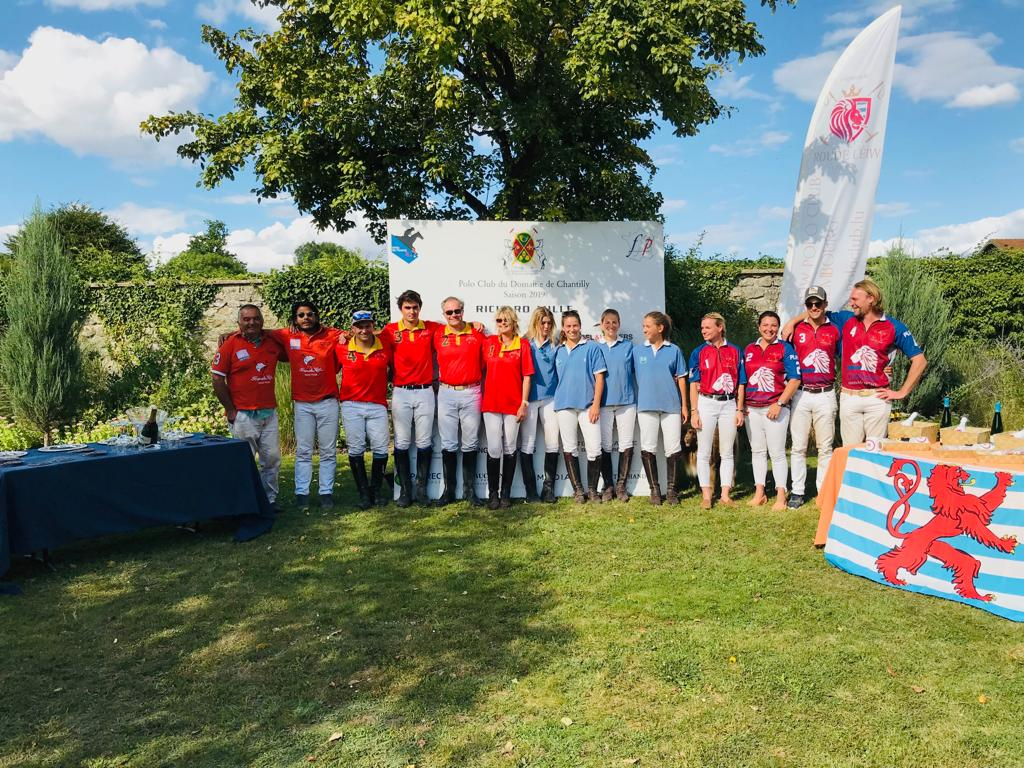 Thank you for this great Luxembourg Cup with ten teams. 0/4 Goals 1st Maryland - 2nd RB Presse - -1/+1 Goal 1st Carmelo Polo - 2nd Roude Leiw Polo Club 2