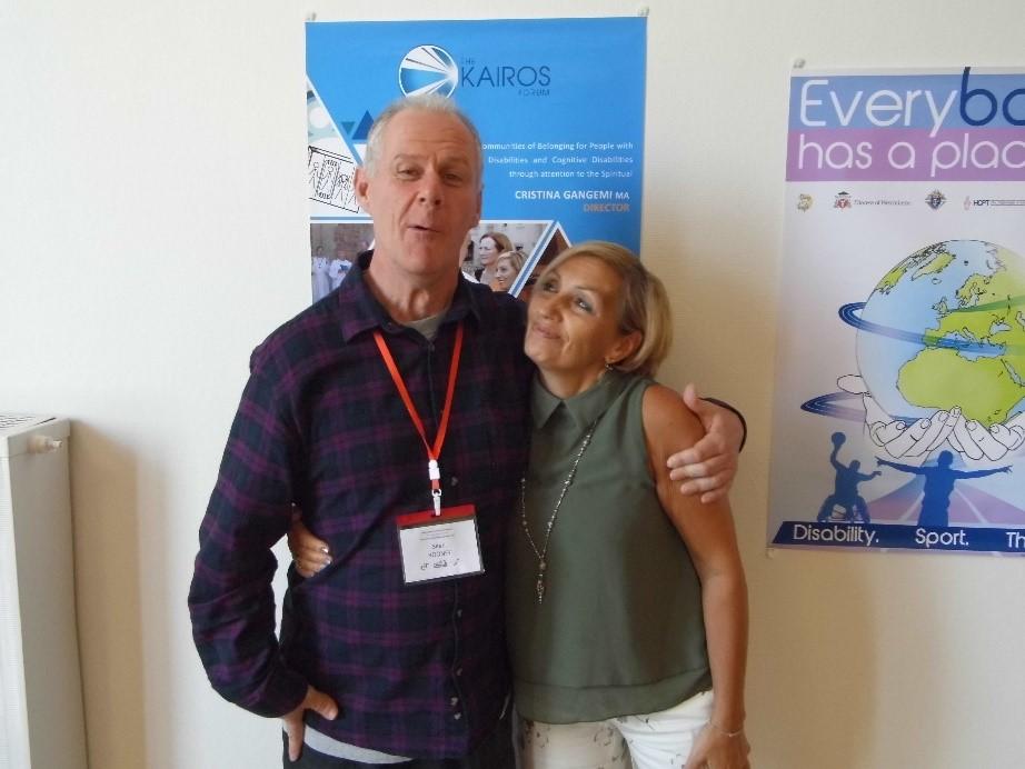 Seán and Cristina Gangemi from the Kairos Forum