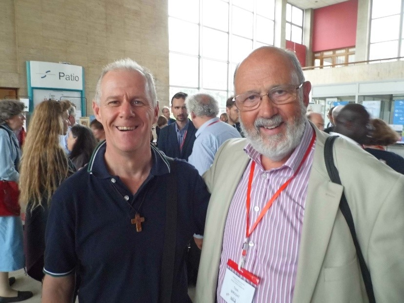 Seán with former Anglican Bishop of Durham, Tom Wright (aka N.T.Wright)