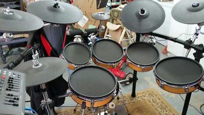 Roland TD Drums with Prism Black /R/R Mesh Drum Heads - Robbie