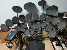 """""""Great to work with, thanks for everything!"""" - Jeff x5 01/14/2017 - 3/17/2017     Mesh in various sizes (shown above) plus the rack and a converted Alesis 8"""" Tom. Supplied clamps and L-Arms as well."""