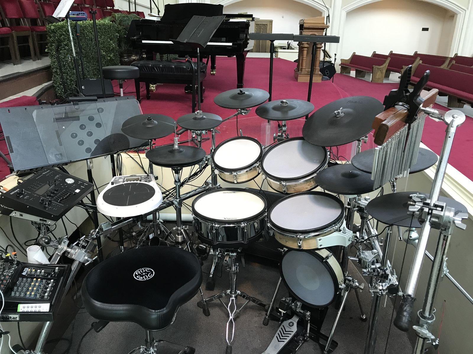 Prism Mesh Drum Heads Roland Kit