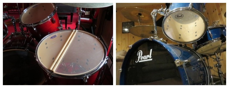 See-Through Drum Heads