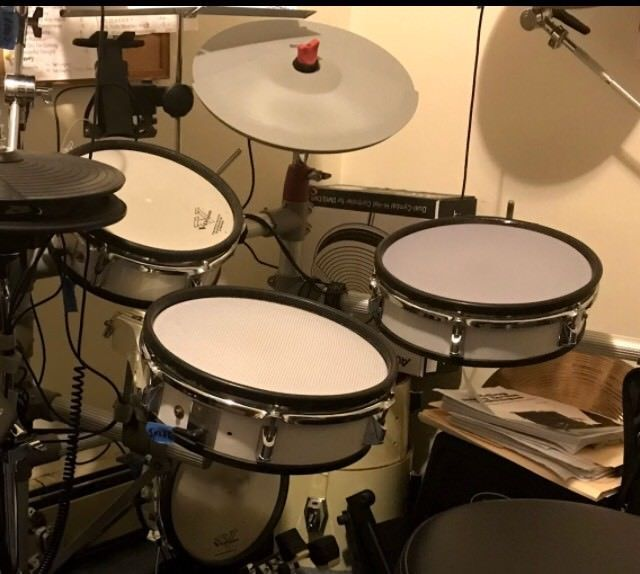 Roland to Prism RR3Ply Mesh Snare - Thanks, Joe! 5/14/18