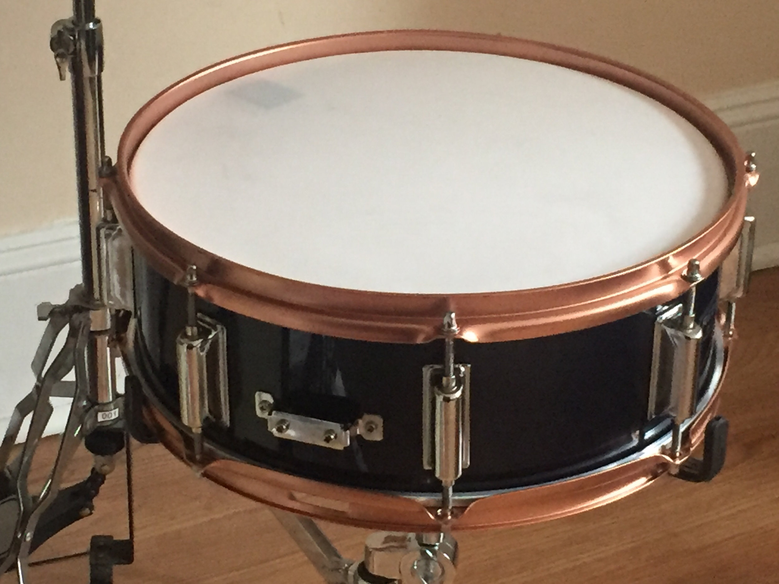 "Prism Custom Shop 14"" Mapex Rebel Electronic Snare w/ 3Ply Sim Series Mesh"